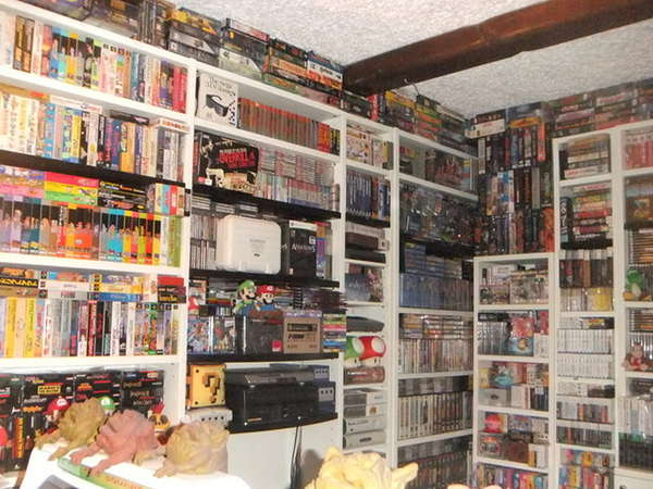 $550,000 Video Game Stockpiles