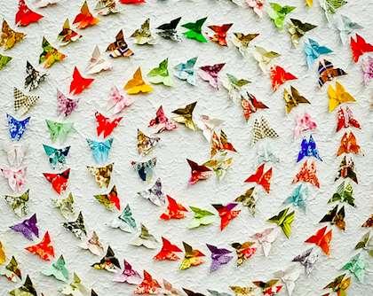 Ornate Origami Artwork