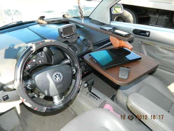 Vehicular Desktops