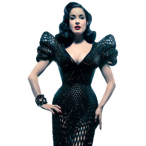 Architectural Mesh Gowns