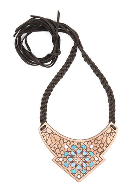Woven Leather Jewelry