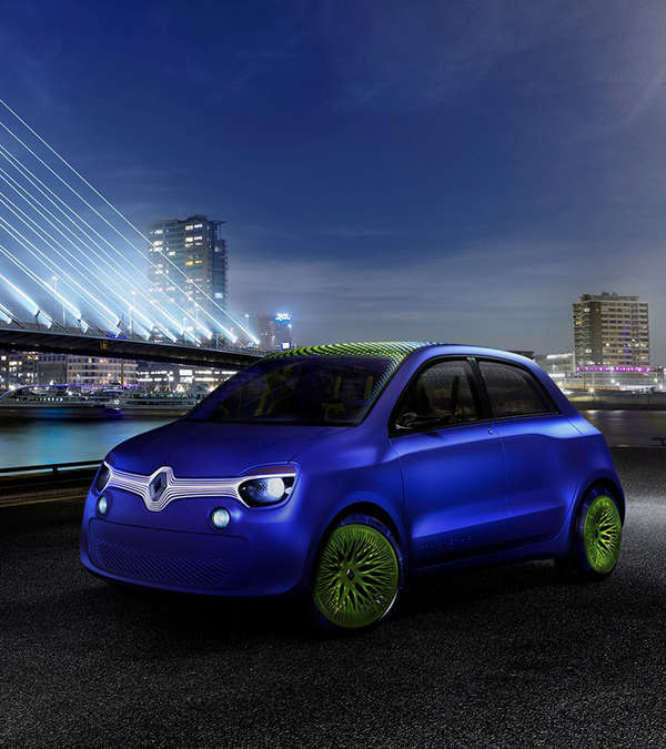 Futuristic City Buggies