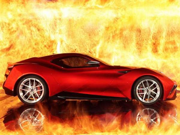 Chinese-Italian Supercar Concepts
