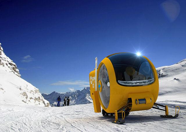 Snow Rescue Ambulances