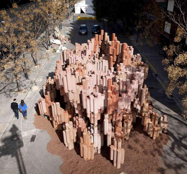 Corrugated Cardboard Gardens