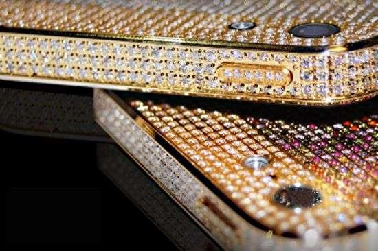 Blinding Diamond Coated Smartphones