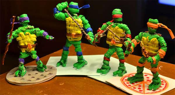 Cartoon Turtle Twist Displays