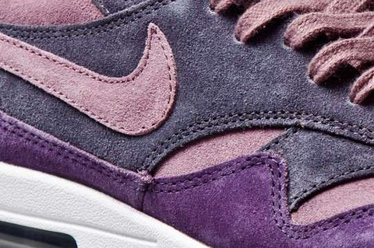 Soft Purple Suede Sneakers