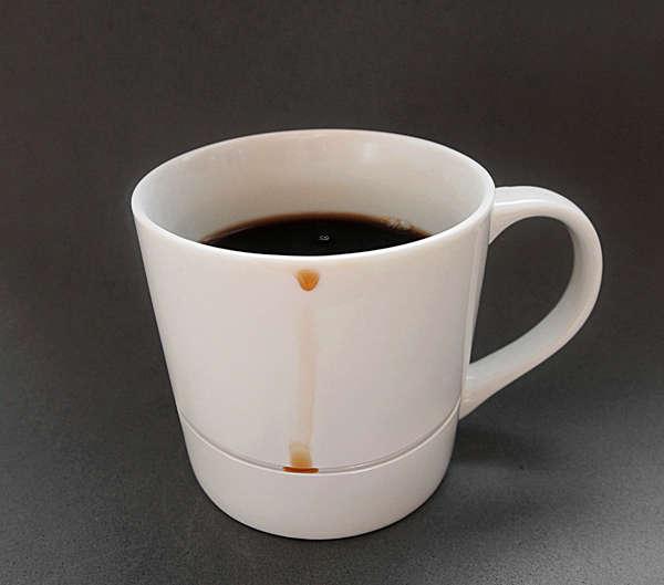 Drip-Free Coffee Mugs