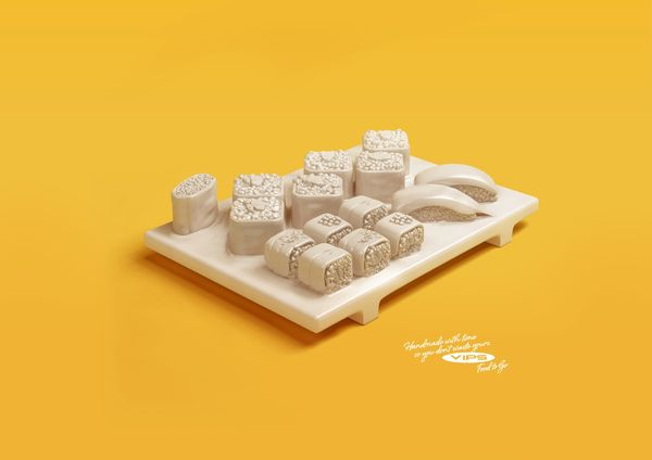 Sculpted Food Ads