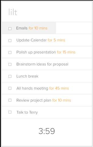 Time-Based Checklist Apps