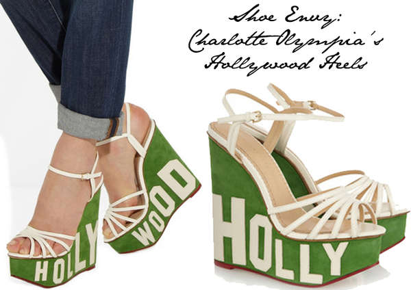 Flashy Valley Girl Wedges