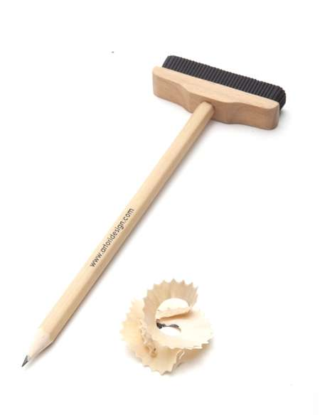 Practical Broom-Shaped Erasers