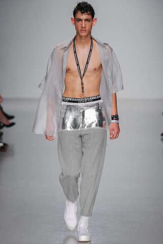 Modernly Metallic Streetwear