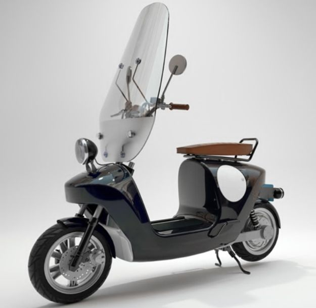 Electric Plant-Infused Scooters