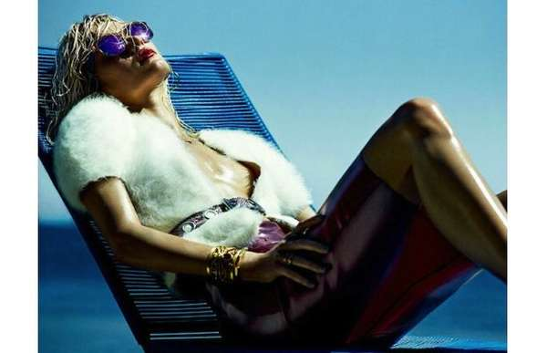 Sultry Sun-Soaked Editorials