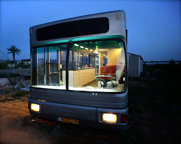 Upcycled Luxury Buses