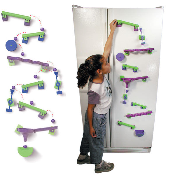 Educational Magnetic Mazes