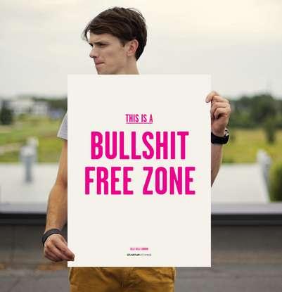 No-Nonsense Wall Posters