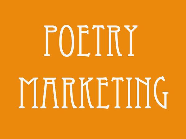 Poetry Marketing