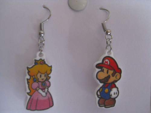 Video Game Earrings