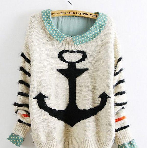 Oversized Nautical Sweaters