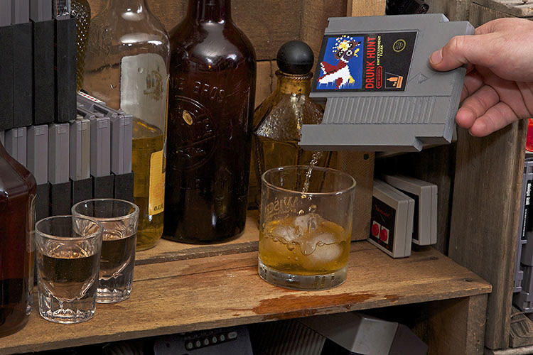 Gamer Cartridge Flasks