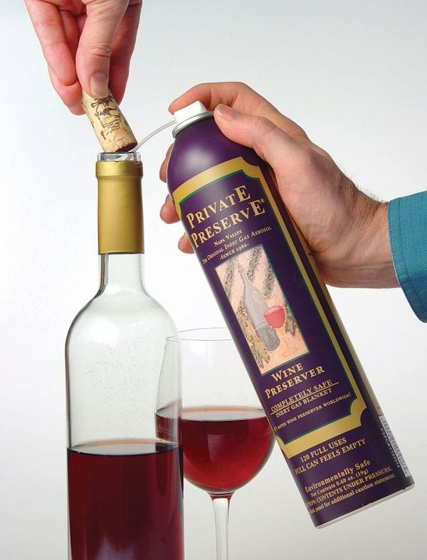 Wine Preservation Sprays