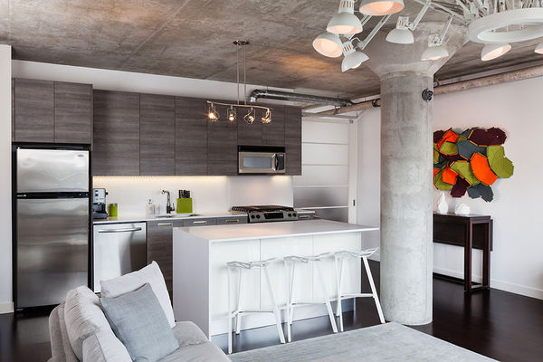 Contemporary Industrial Lofts