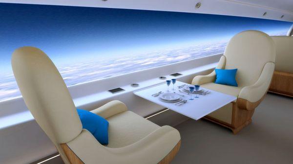 Window-Replacing Airplane Screens
