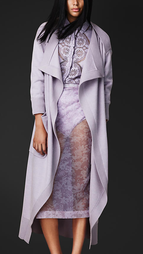 Chic Pastel Trench Coats