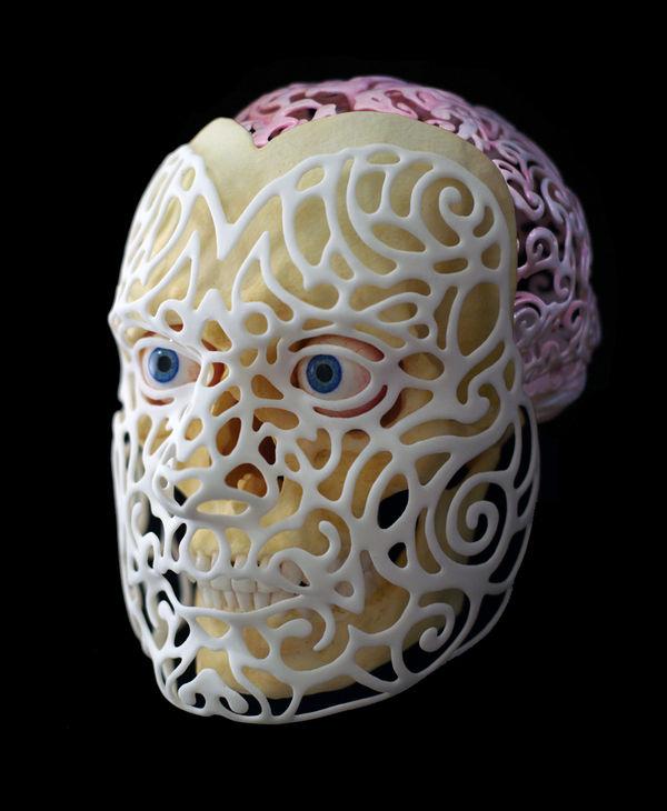 Skeletal Self-Portraits