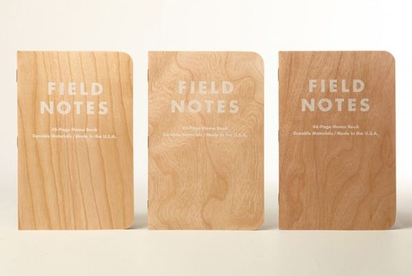 Eco-Friendly Wooden Notebooks