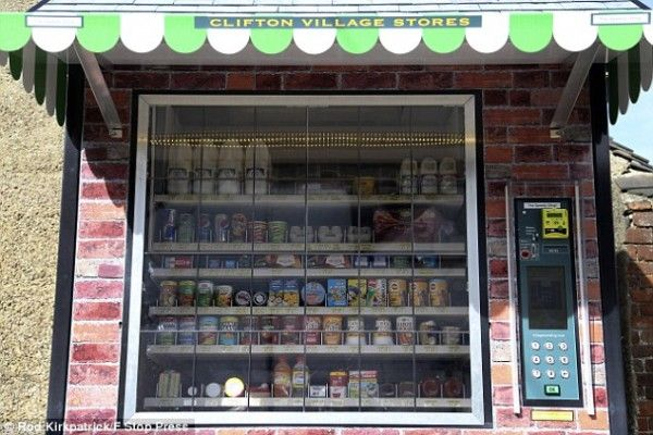 Vending Machine Shops