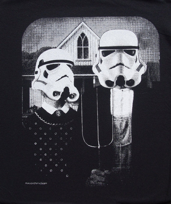 Gothic Sci-Fi Shirts