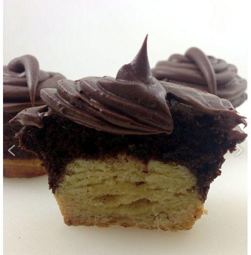 Croissant Cupcake Hybrids