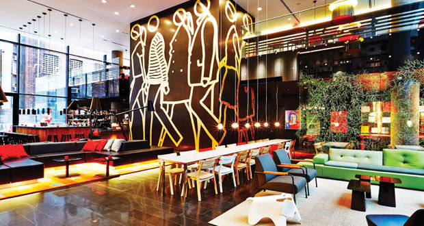 Eclectic Hotel Lounges
