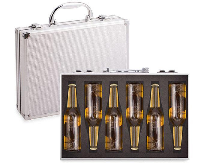 Deceptive Beer Briefcases