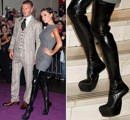 Heel-less Platform Shoes