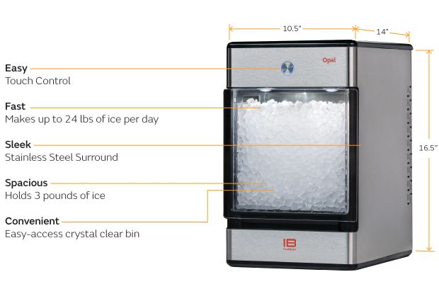 Portable Nugget Ice Machines Opal Nugget