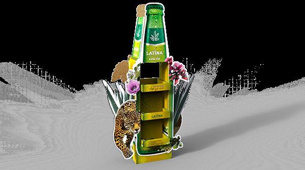 rainforest beer merchandising agave beer