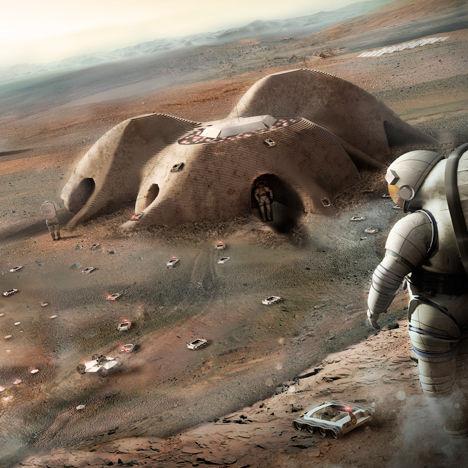 Planetary 3D-Printed Settlements