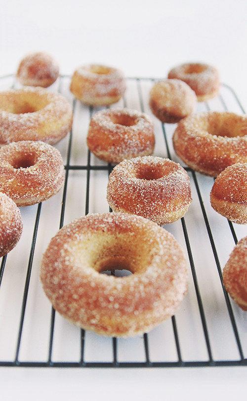 Baked Cider Donuts : baked apple cider donuts