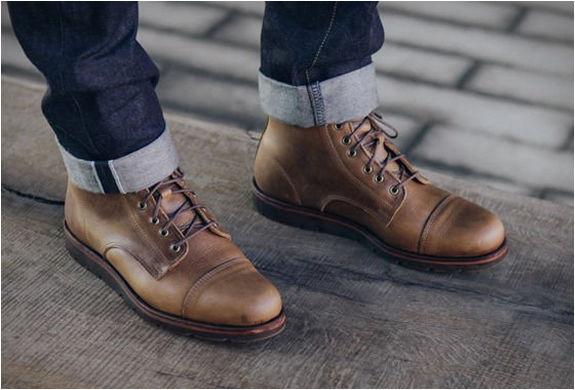 custom leather work boots rancourt x huckberry boot