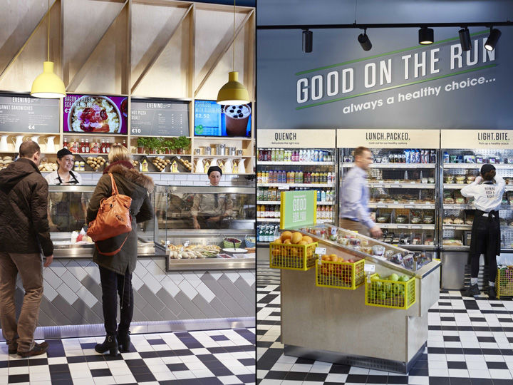 Convenience-Focused Grocery Displays