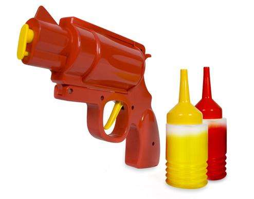 Ketchup-Filled Firearms