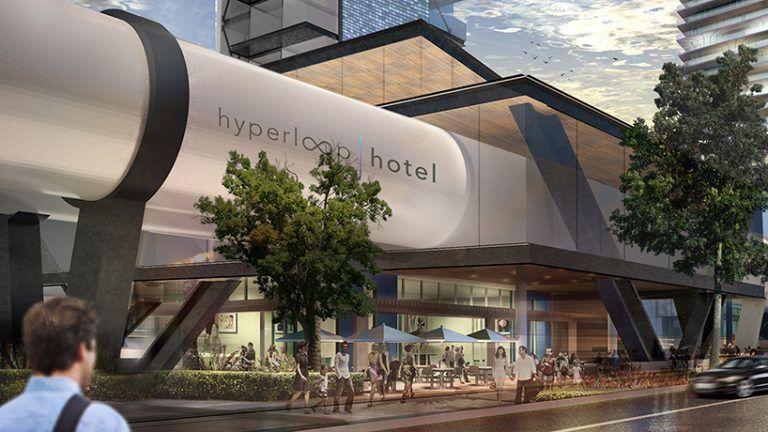 High-Speed Hotel Pods