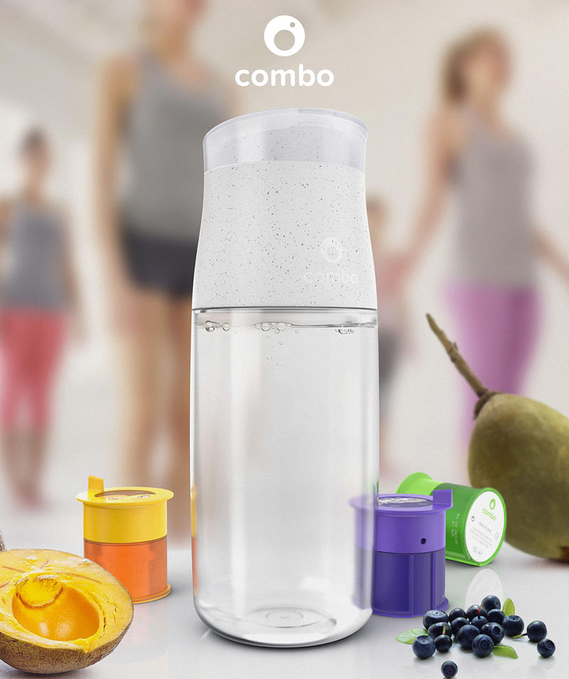 Supplement-Infused Water Bottles