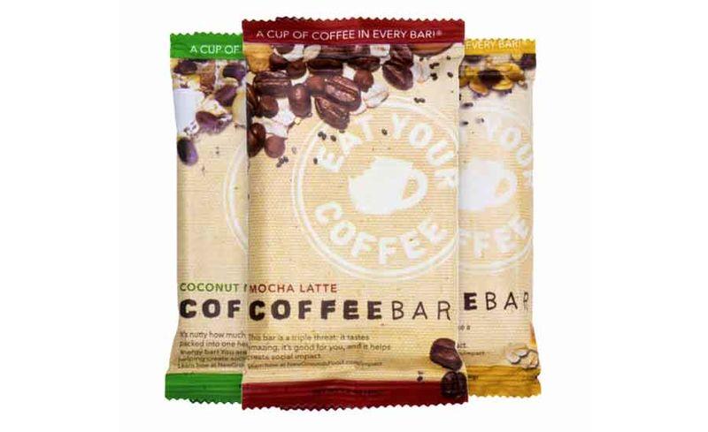 Coffee-Infused Energy Bars
