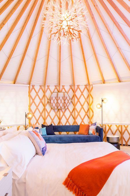 Luxe Festival Yurts